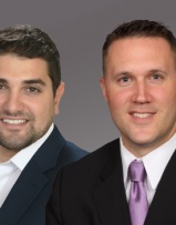 Senior Mortgage Consultant Nicholas Rocco and John Moore
